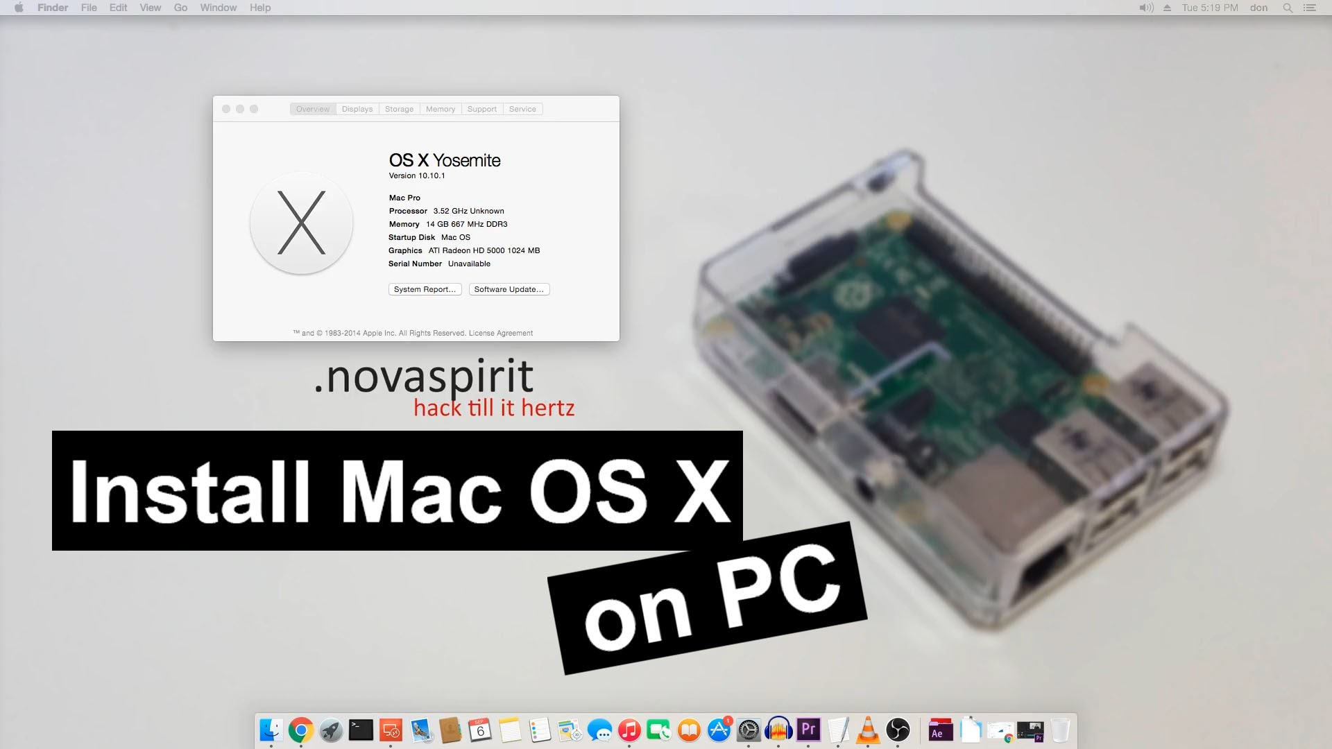 Installing Mac OS on PC