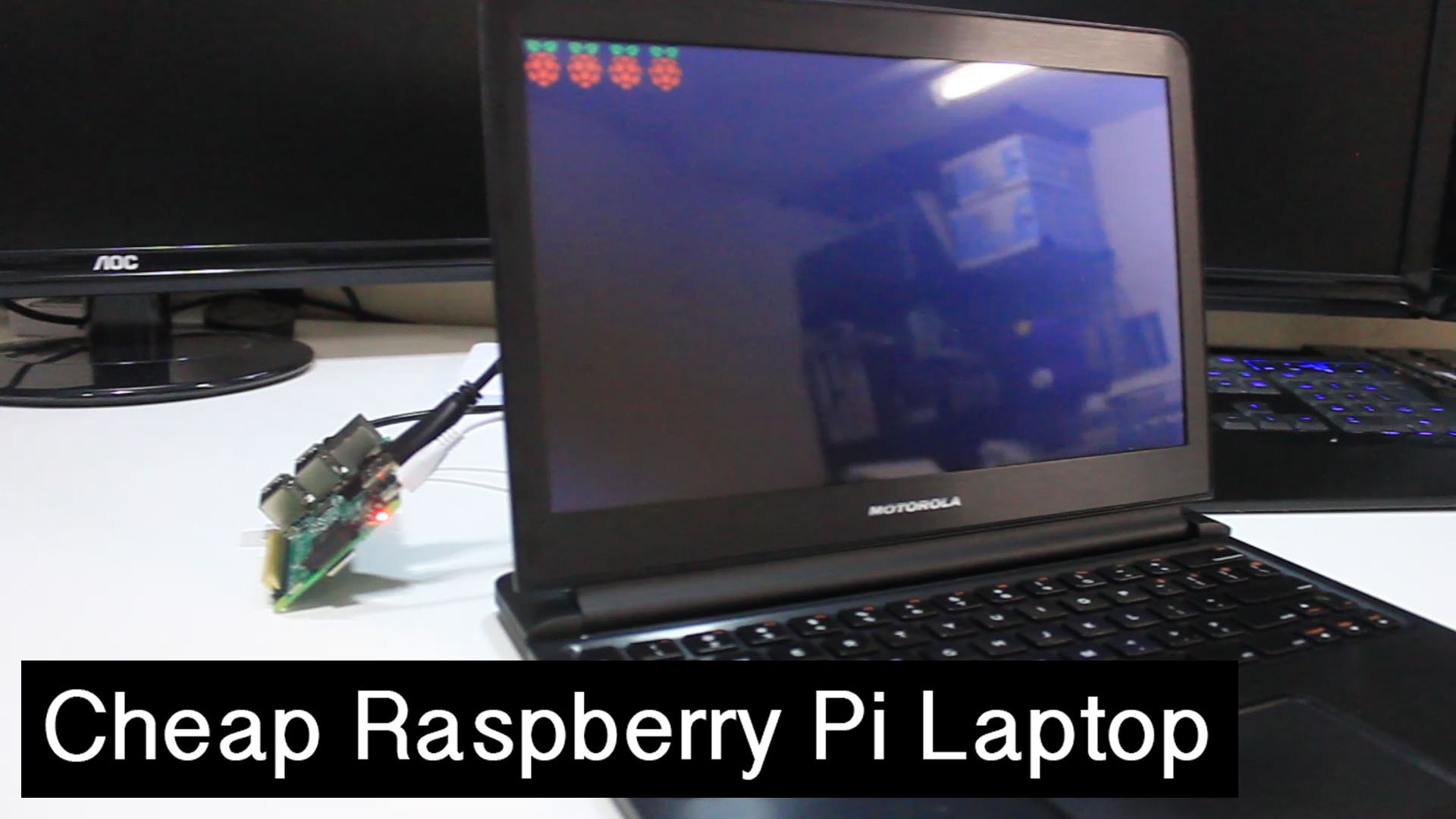 DIY Cheap Raspberry Pi Laptop