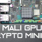 GPU Mining on Tinkerboard