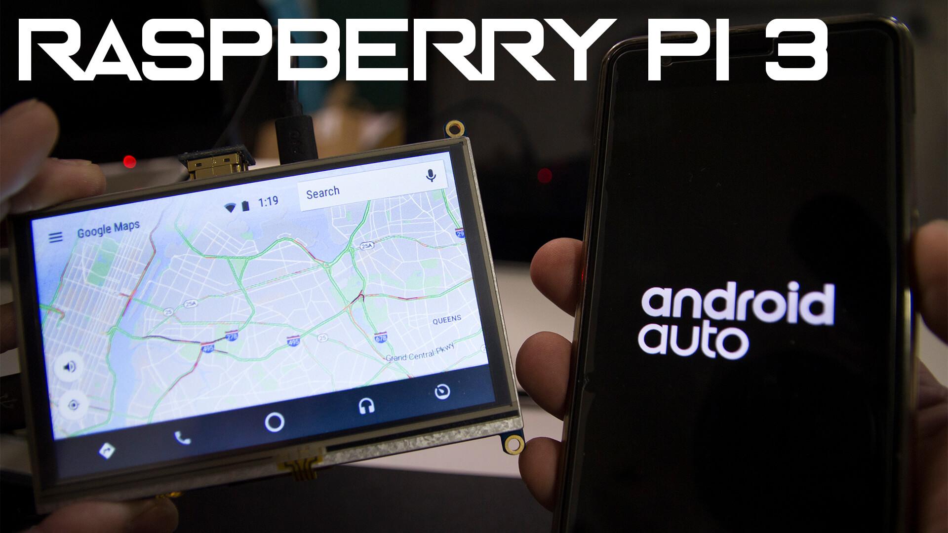 Android Auto on Raspberry Pi - Novaspirit