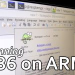 How to run x86 on arm
