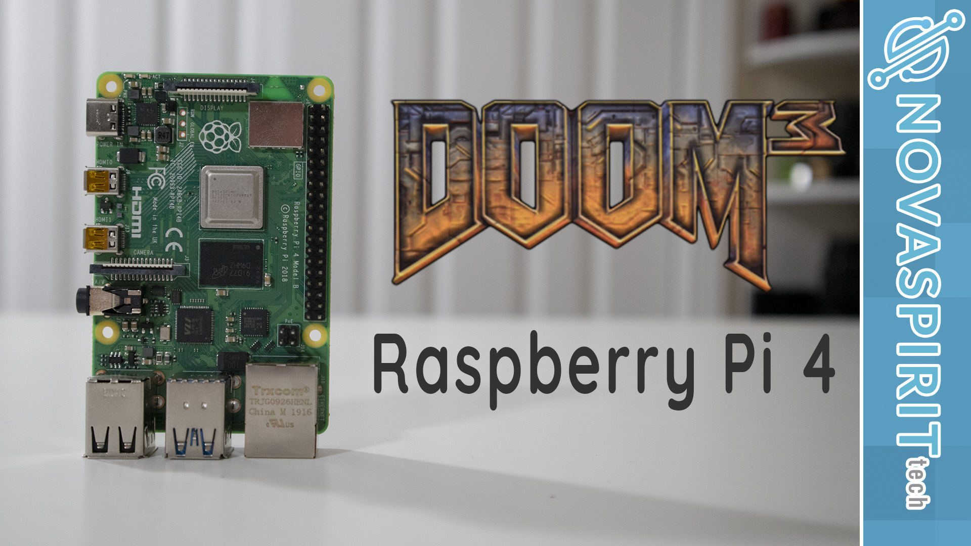 How to install Doom 3 on Raspberry Pi 4